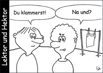 Hektor und Lektor: Klammern