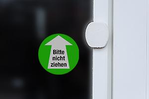 Tür ziehen
