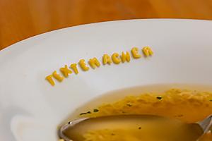 Buchstabensuppe - Textemacher