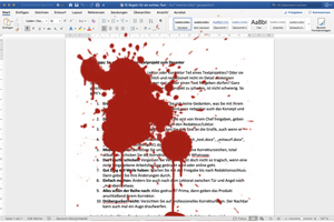 Word Blut
